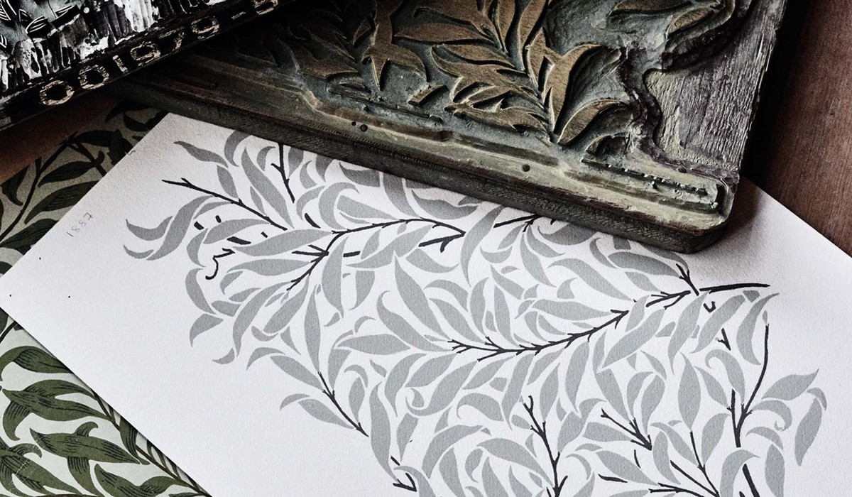 William Morris and Co Pure Archive Documents Willow Bough